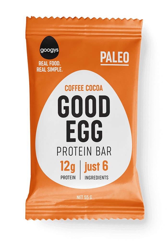 Good egg coffee cocoa flavoured bar