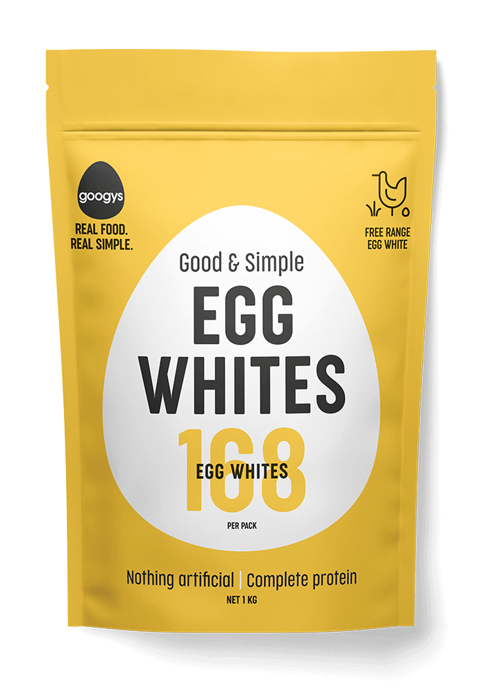 pure egg white pouch