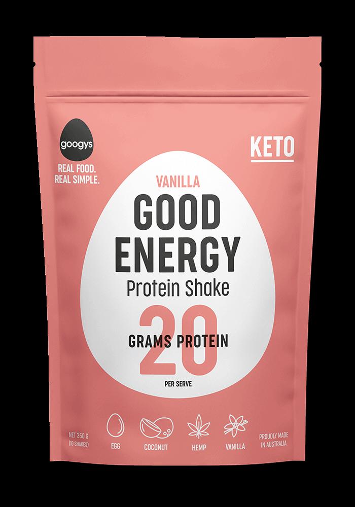 vanilla flavoured protein shake pouch